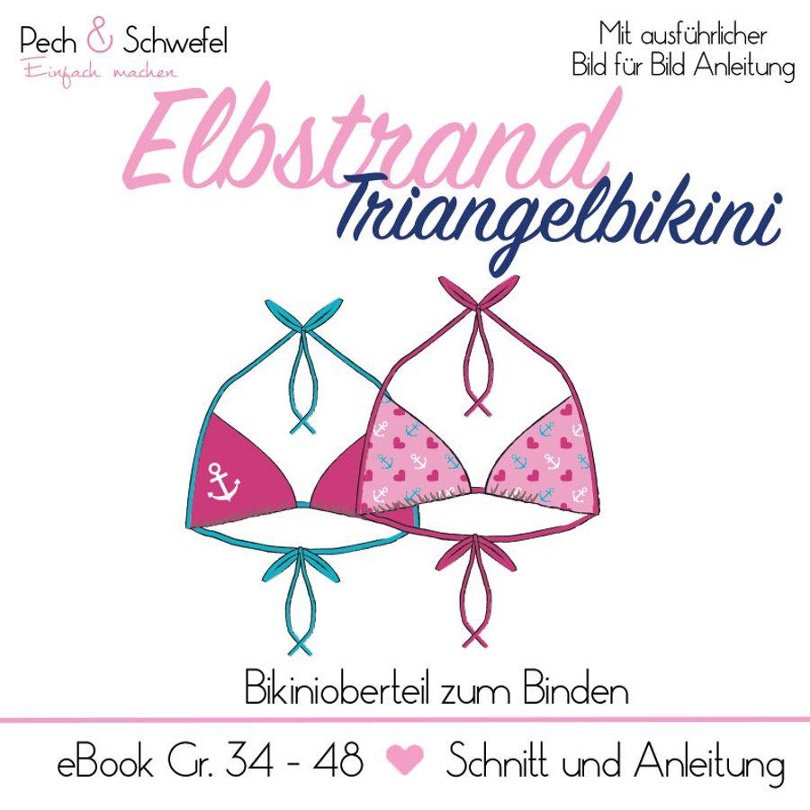 Produktfoto von Pech & Schwefel für Schnittmuster Elbstrand Triangelbikini