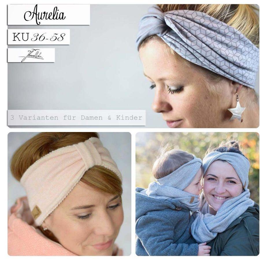 Produktfoto von Himmelblau. für Schnittmuster Aurelia