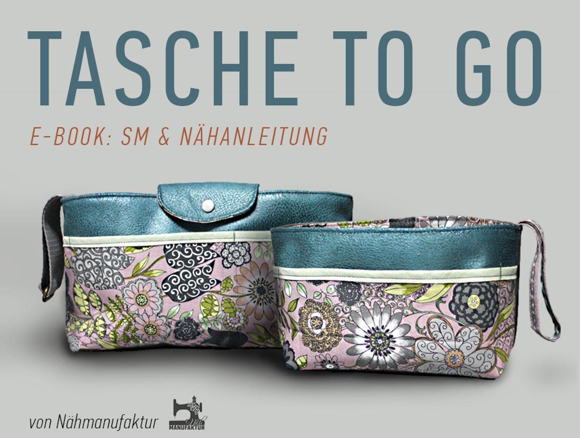 Produktfoto von Näh-Manufaktur für Schnittmuster Tasche to Go