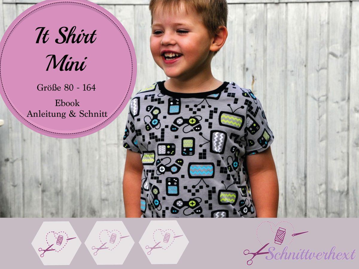 Produktfoto von Schnittverhext für Schnittmuster It Shirt Mini