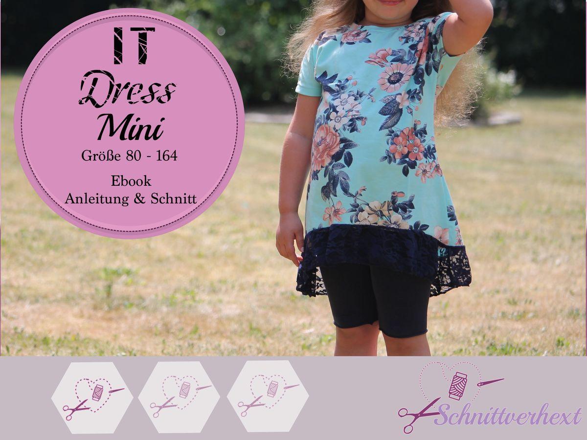 Produktfoto von Schnittverhext für Schnittmuster It Dress Mini