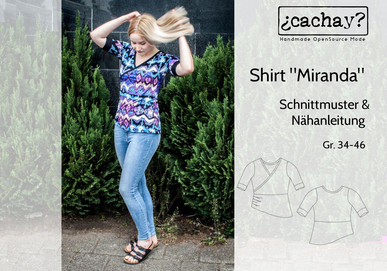 Produktfoto von Cachay für Schnittmuster Shirt Miranda