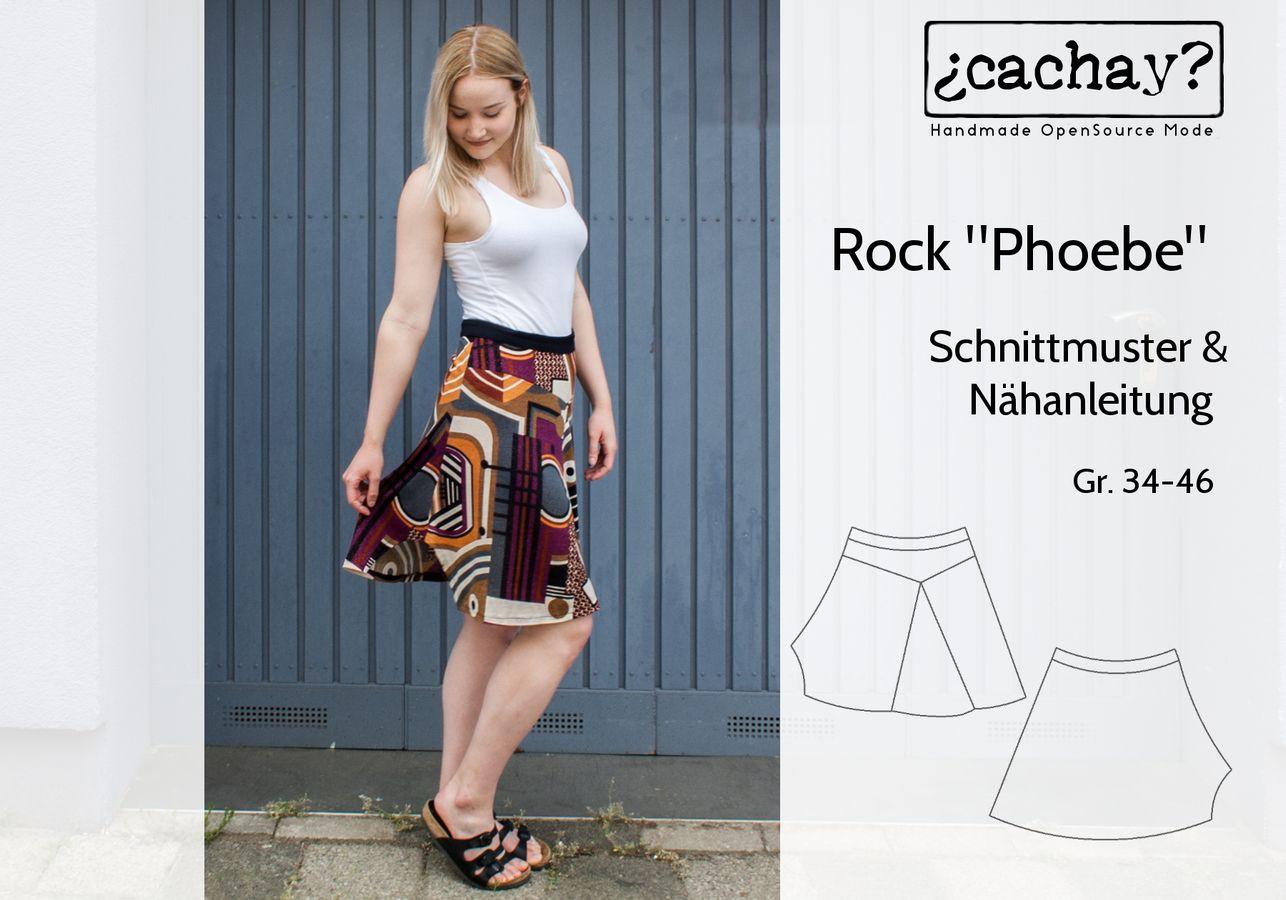 Produktfoto von Cachay für Schnittmuster Rock Phoebe