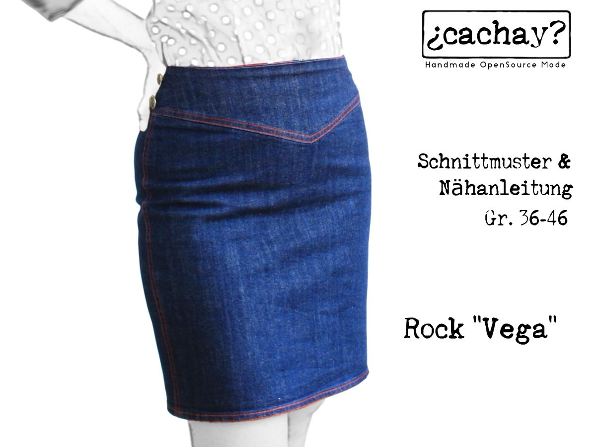 Produktfoto von Cachay für Schnittmuster Rock Vega