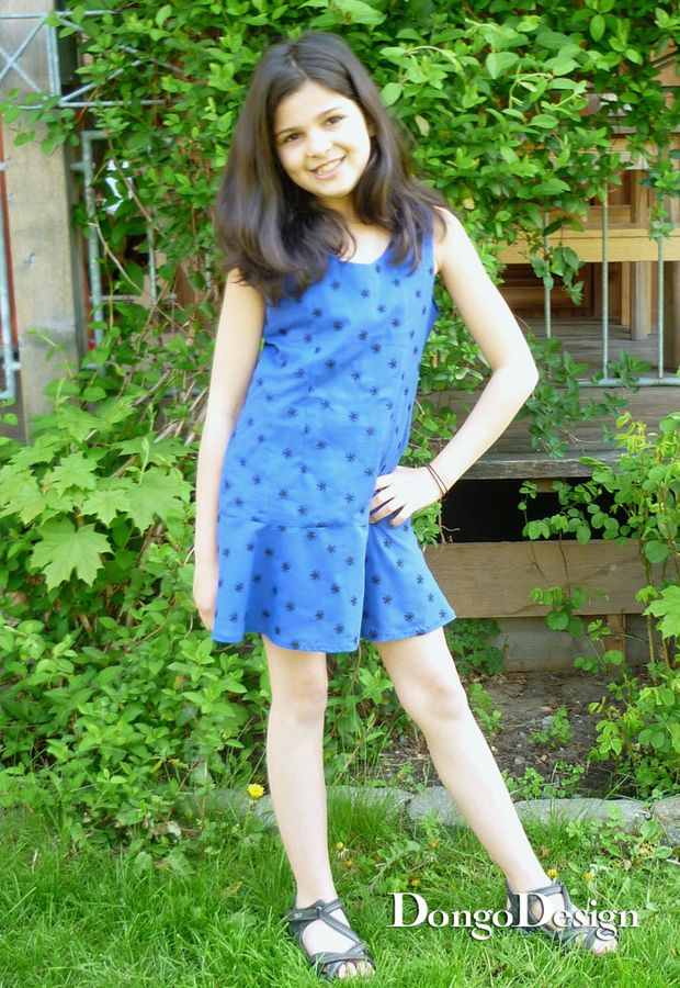 Produktfoto von DongoDesign für Schnittmuster Kleid Valentina