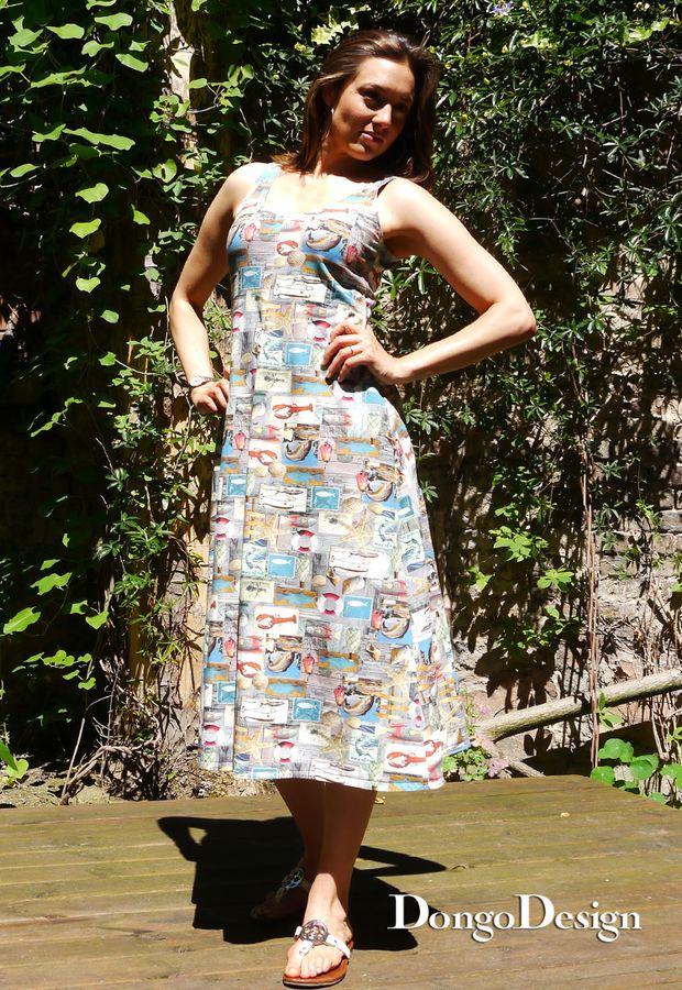 Produktfoto von DongoDesign für Schnittmuster Easy-Jerseykleid Kampen