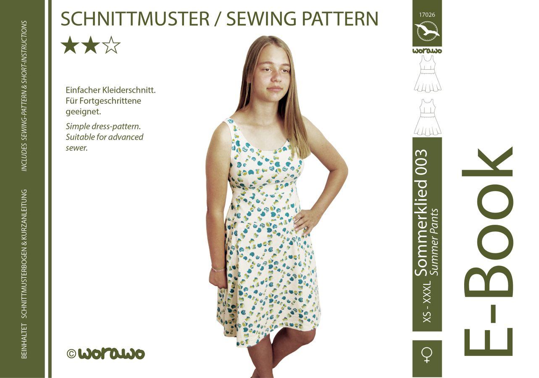 Produktfoto von worawo für Schnittmuster Sommerkleid Damen 003