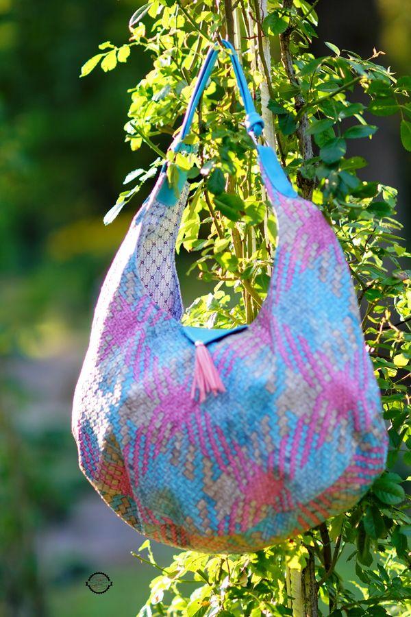 Produktfoto von LaLilly Herzileien für Schnittmuster Hobobag Noabel