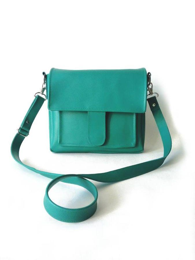 Produktfoto von LaLilly Herzileien für Schnittmuster Boxbag Ysabel