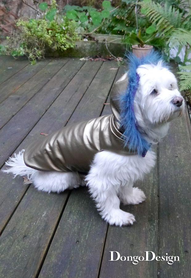 Produktfoto von DongoDesign für Schnittmuster Hundemantel Chanell für Coco