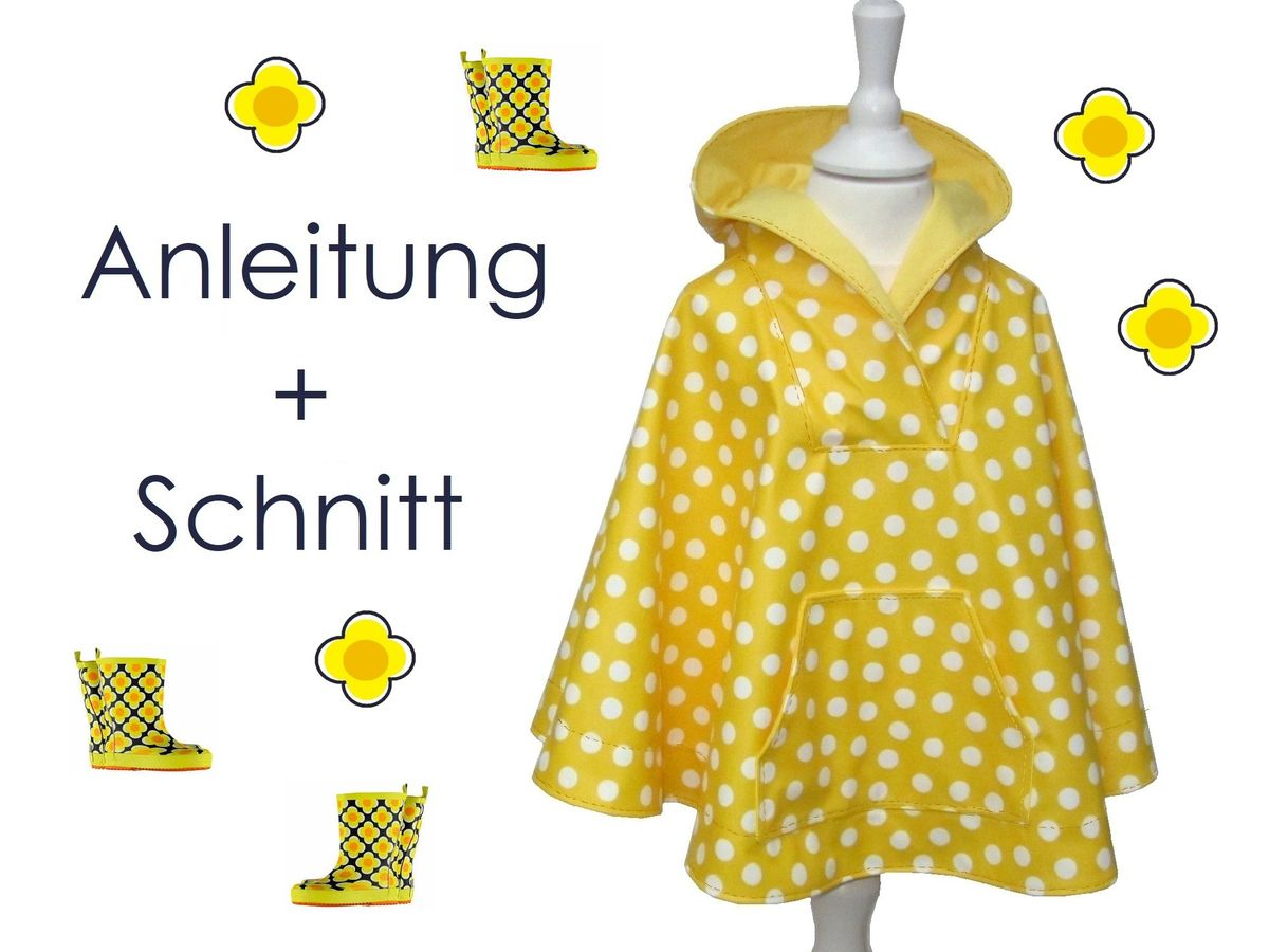 Produktfoto von Lunicum für Schnittmuster Regencape Poncho