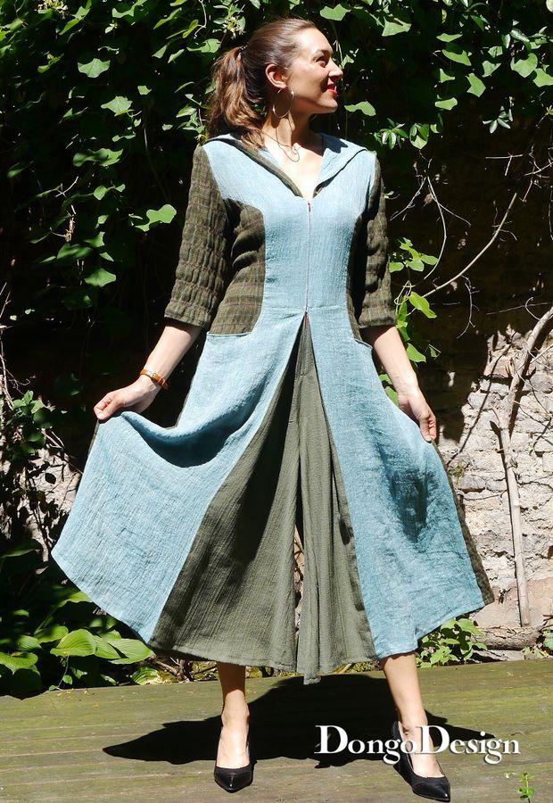 Produktfoto von DongoDesign für Schnittmuster Jumpsuit Onepiece-Culotte