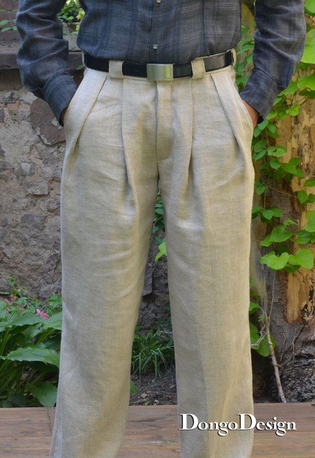 Produktfoto von DongoDesign für Schnittmuster Bundfaltenhose