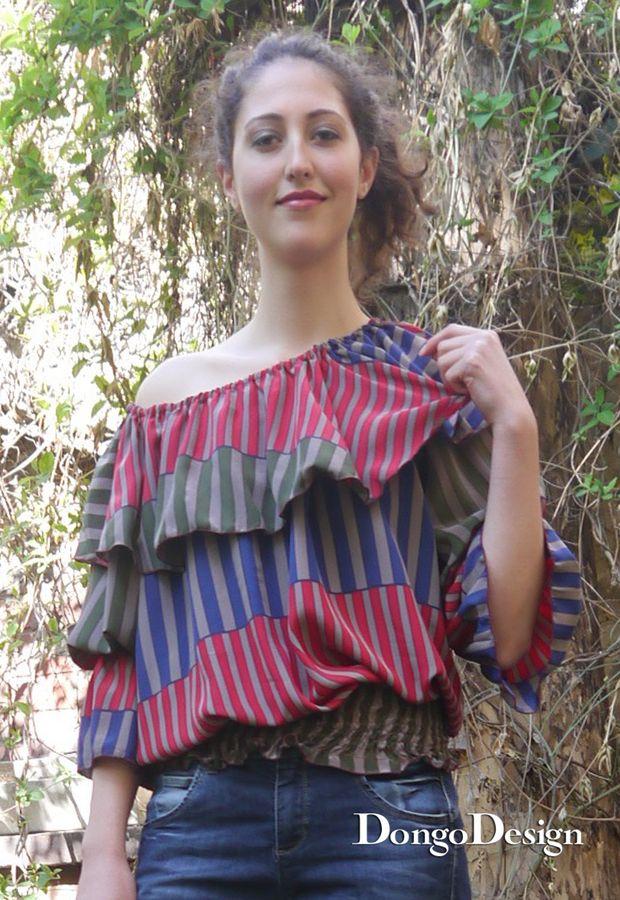 Produktfoto von DongoDesign für Schnittmuster Bluse Alba