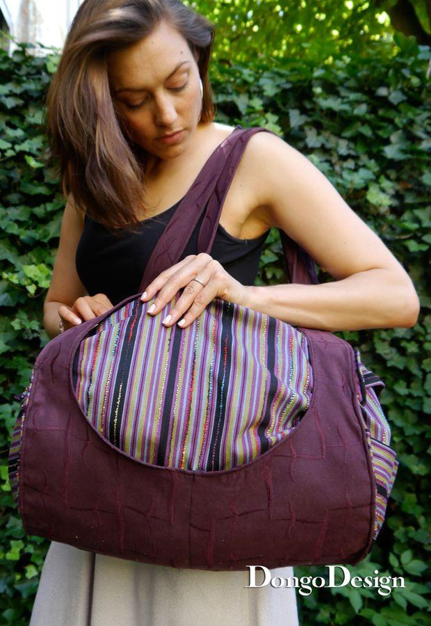 Produktfoto von DongoDesign für Schnittmuster Tasche Die Rolle