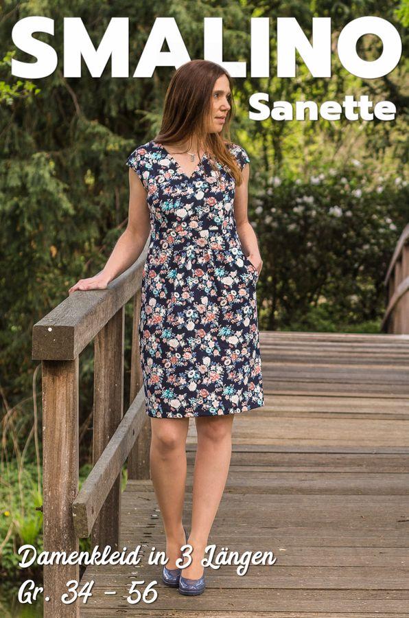 Produktfoto von Smalino für Schnittmuster Damen-Kleid Sanette