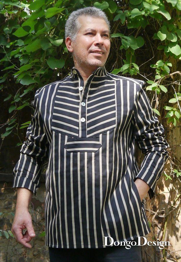 Produktfoto von DongoDesign für Schnittmuster Herrenhemd Fischers Fritze