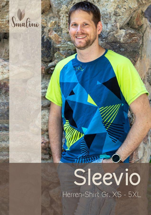 Produktfoto von Smalino für Schnittmuster Herren-Shirt Sleevio
