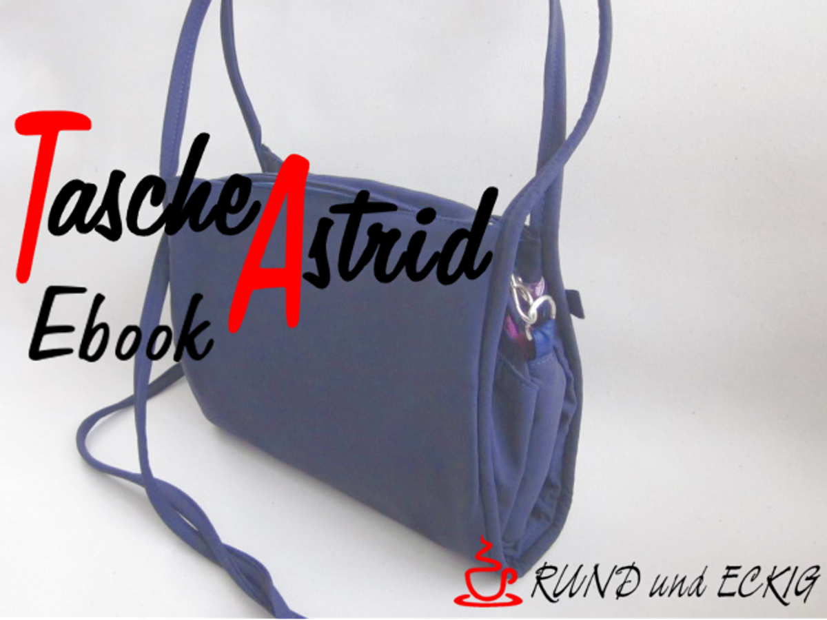 Produktfoto von RUND und ECKIG für Schnittmuster Tasche Astrid