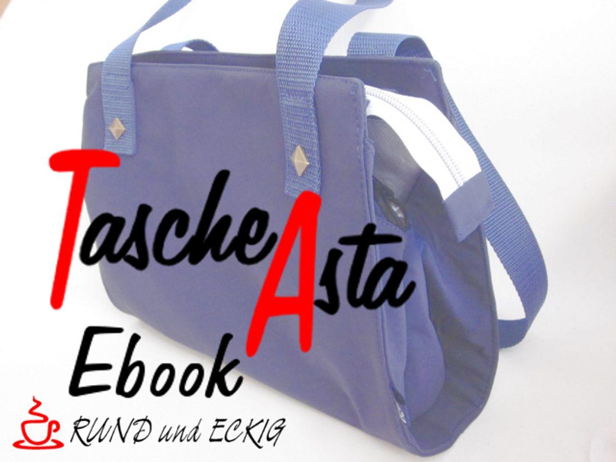 Produktfoto von RUND und ECKIG für Schnittmuster Tasche Asta
