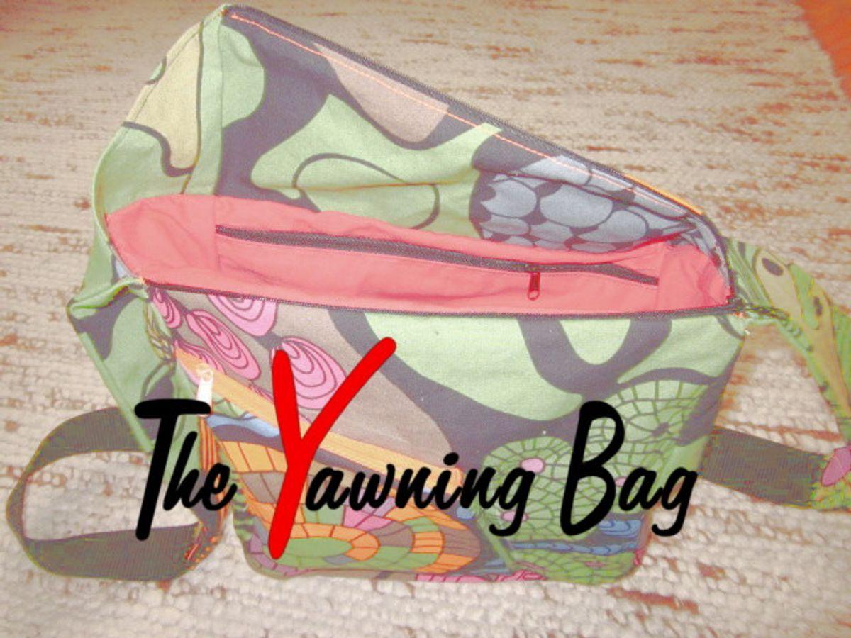 Produktfoto von RUND und ECKIG für Schnittmuster The Yawning Bag