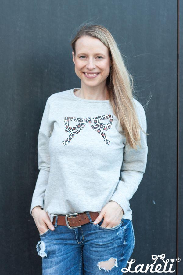 Produktfoto von Laneli für Schnittmuster Shirt & Langarmshirt #Jules