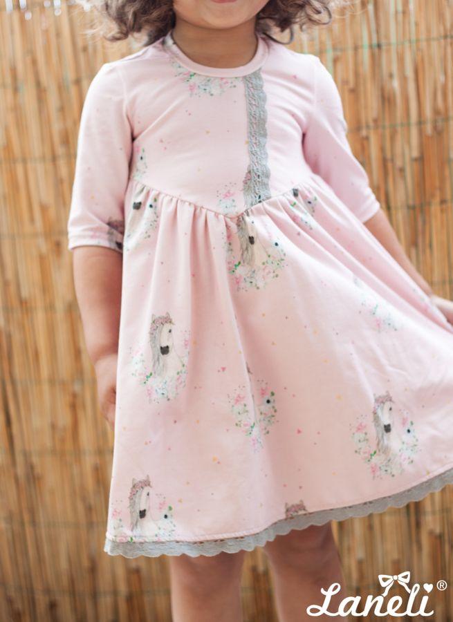 Produktfoto von Laneli für Schnittmuster Kleid #Petite Chloe -Jersey-