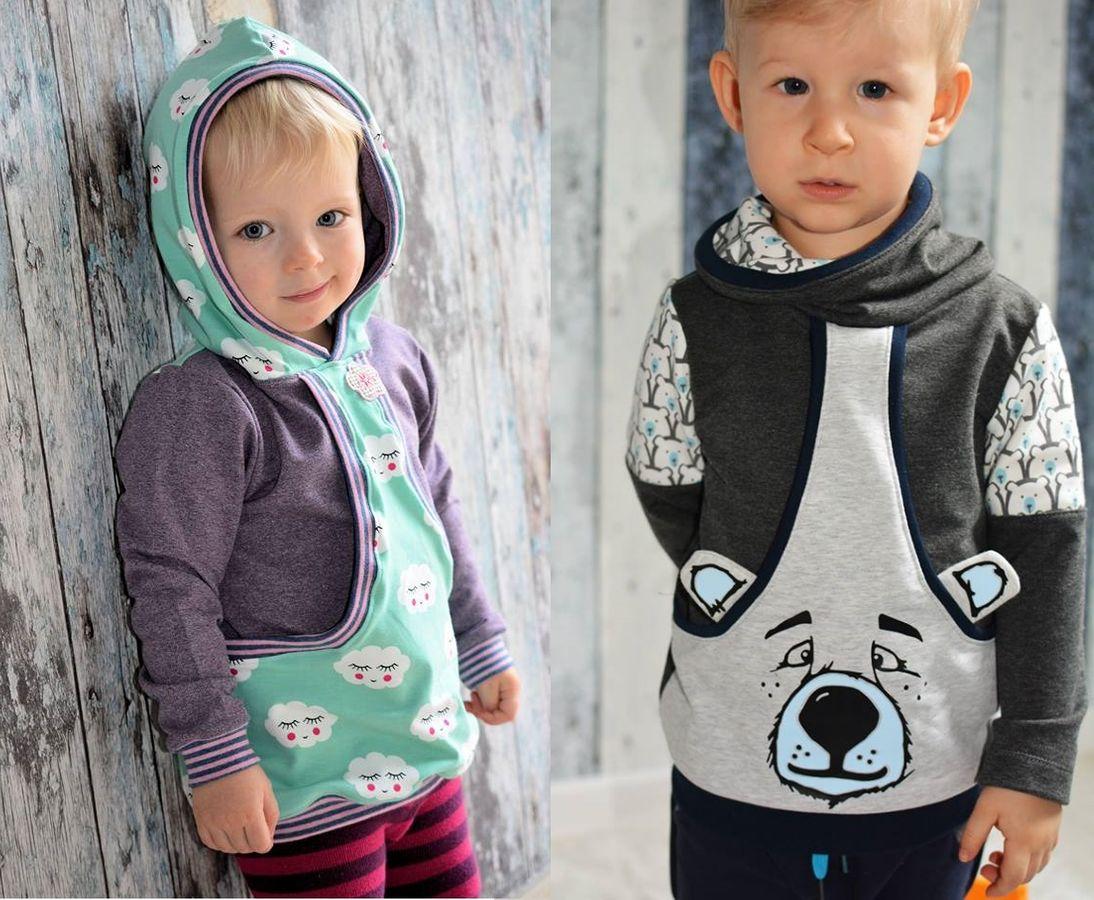 Produktfoto von My Little Ladybird für Schnittmuster Taschenhoodie Aurelio & Aurelia