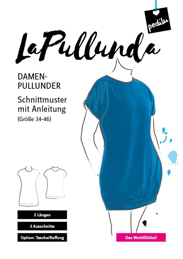 Produktfoto von pedilu für Schnittmuster LaPullunda