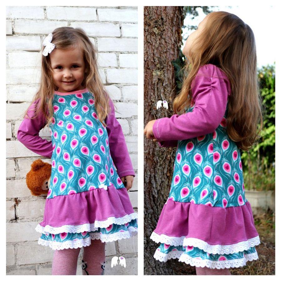 Produktfoto von Engelinchen für Schnittmuster Kleid Rosie