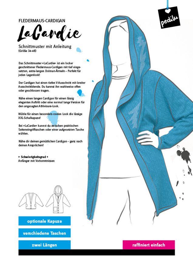 Produktfoto von pedilu für Schnittmuster LaCardie