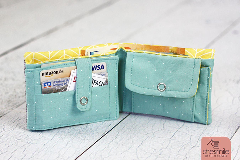 Produktfoto von shesmile für Schnittmuster Geldbeutel KlapKram
