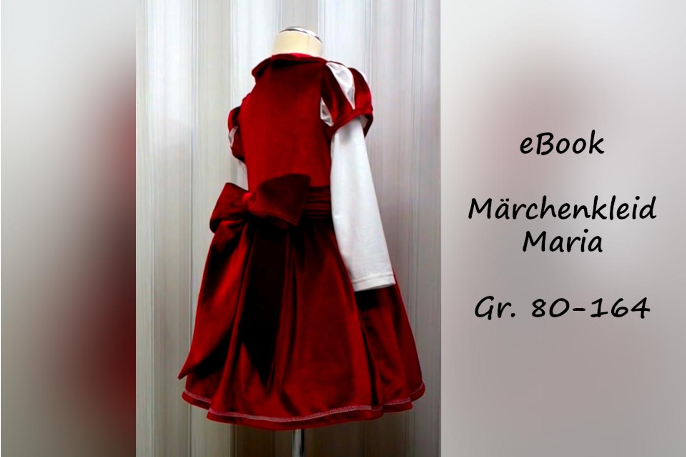 Produktfoto von Bunte Nähigkeiten für Schnittmuster Märchenkleid Maria
