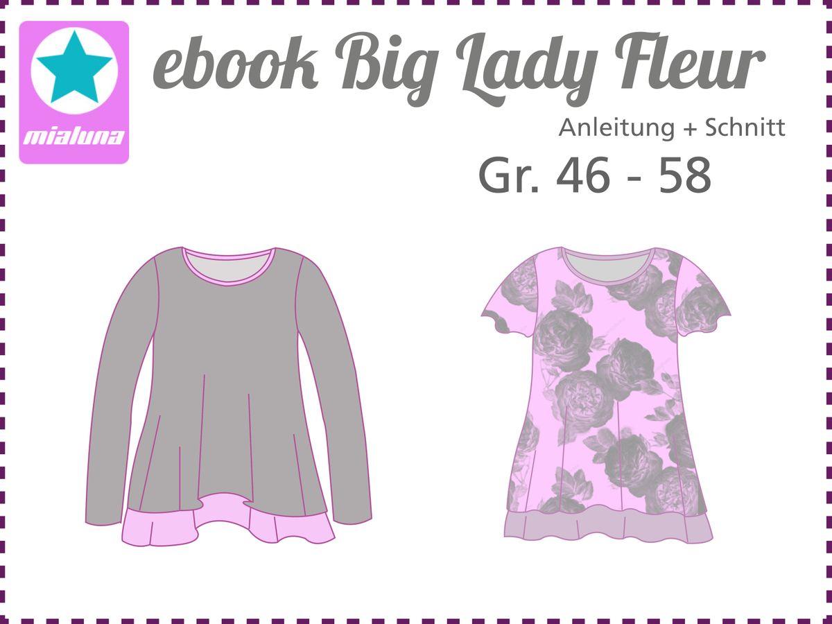 Produktfoto von mialuna für Schnittmuster Big Lady Fleur