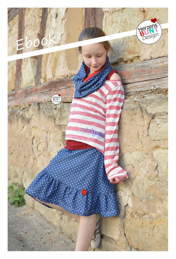 Produktfoto von Herzensbunt Design für Schnittmuster Blossom Skirt