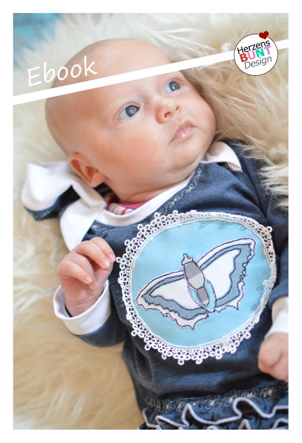 Produktfoto von Herzensbunt Design für Schnittmuster Farbklex - Baby Edition