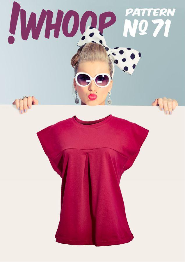 Produktfoto von !Whoop patterns für Schnittmuster #71 Shirt