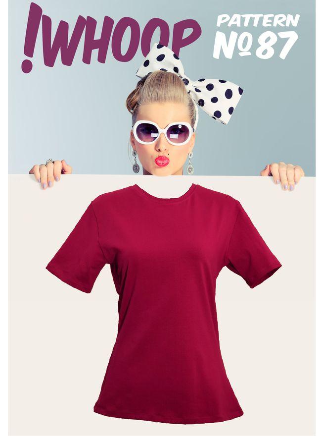 Produktfoto von !Whoop patterns für Schnittmuster #87 T-Shirt