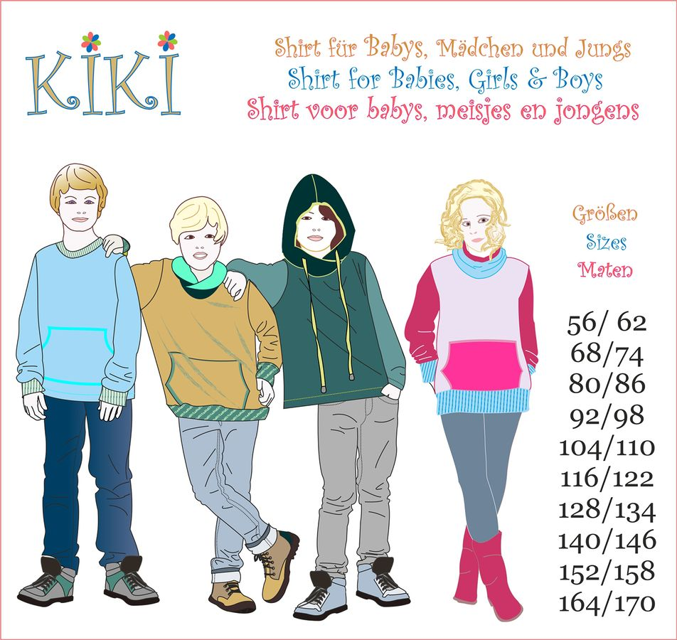 Produktfoto von Mamu Design für Schnittmuster Kiki
