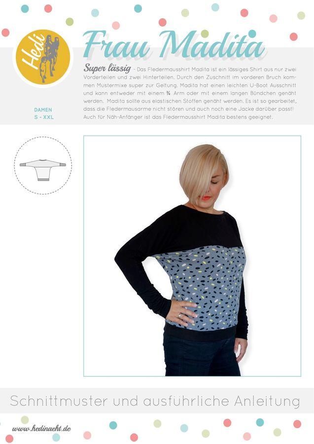 Produktfoto von Hedi für Schnittmuster Frau Madita