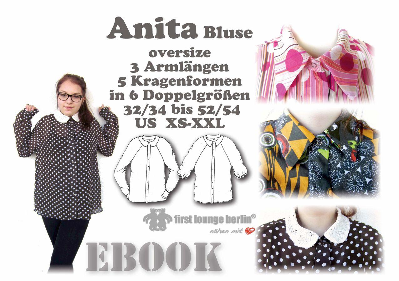 Produktfoto von Firstlounge Berlin für Schnittmuster Anita