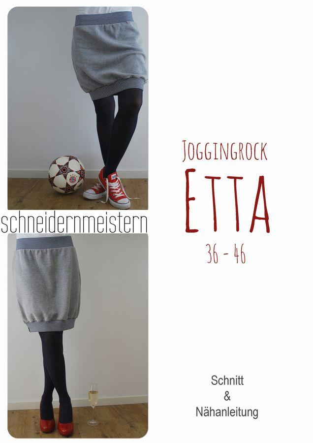 Produktfoto von schneidernmeistern für Schnittmuster Joggingrock Etta