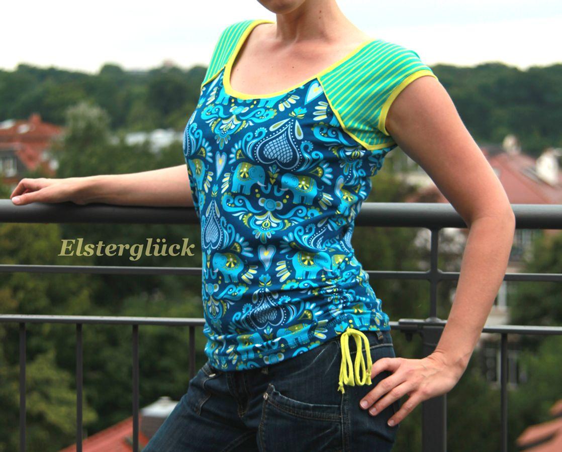Produktfoto von Elsterglück für Schnittmuster Raffinessa