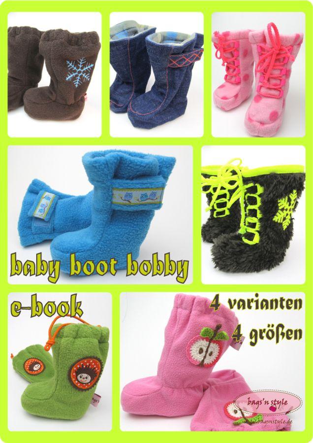 Schnittmuster Baby Boot Bobby von I\'m sew happy!