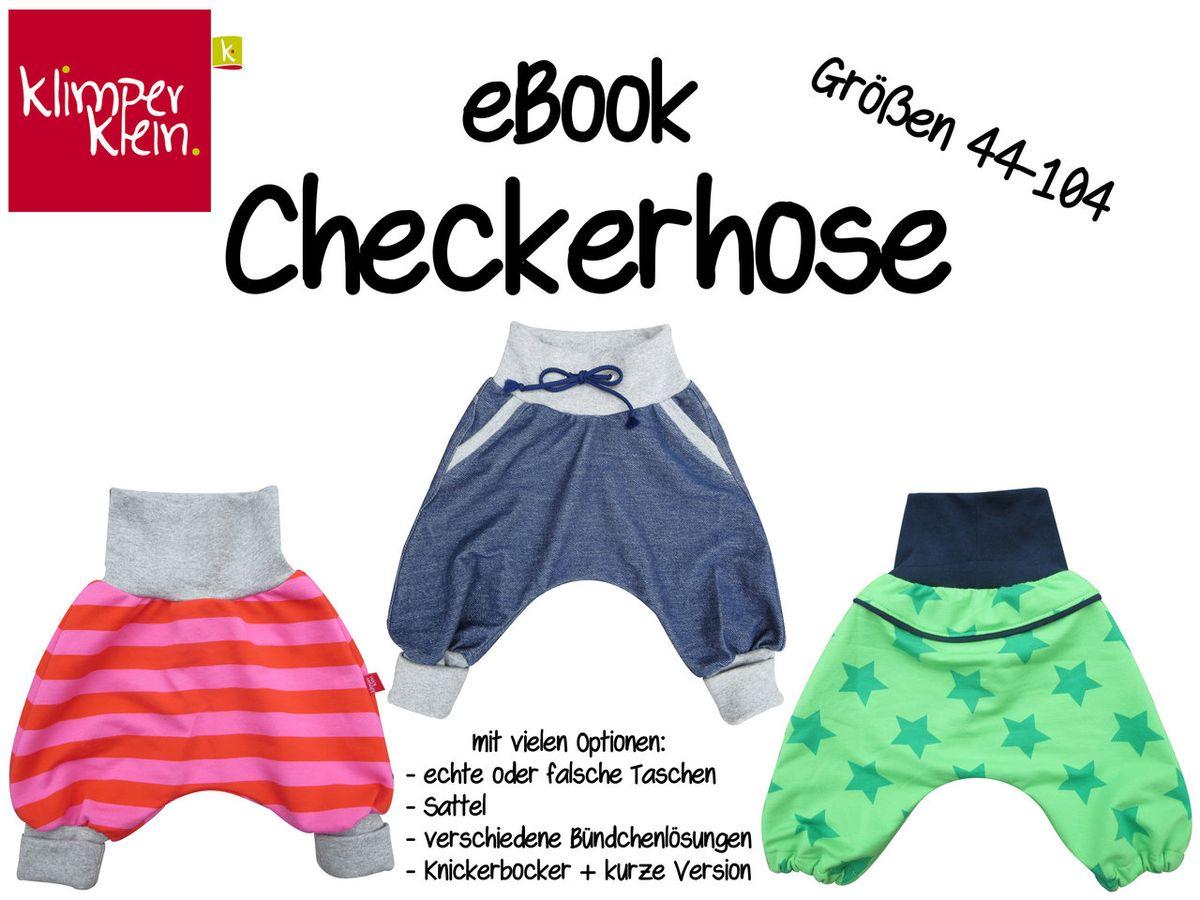 Produktfoto von klimperklein für Schnittmuster Checkerhose