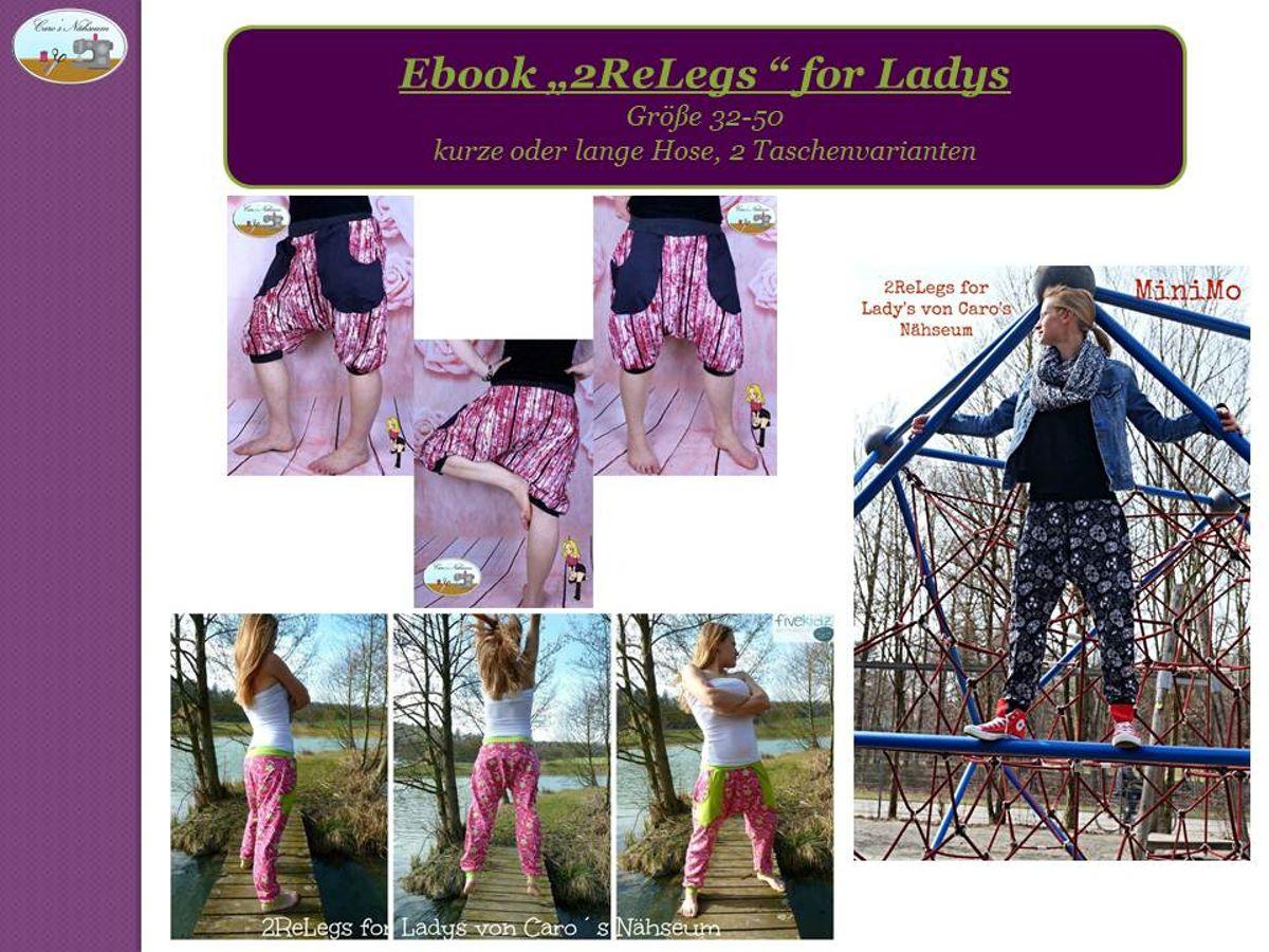 Produktfoto von Caro's Nähseum für Schnittmuster 2ReLegs for Ladys