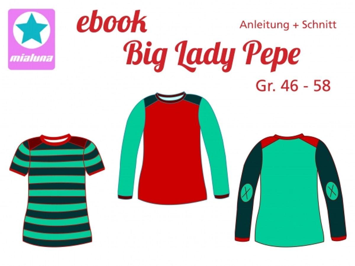 Produktfoto von mialuna für Schnittmuster Big Lady Pepe