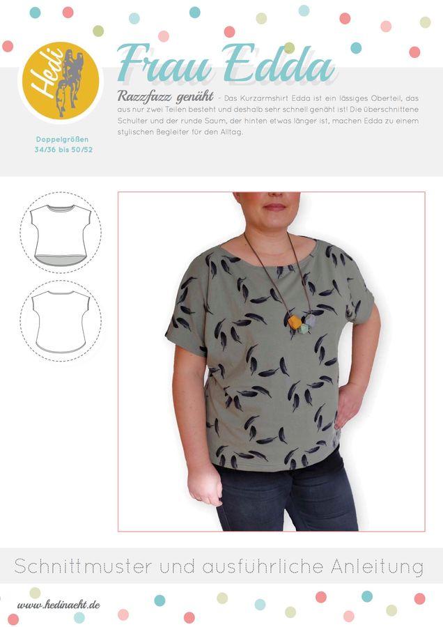 Produktfoto von Hedi für Schnittmuster Frau Edda