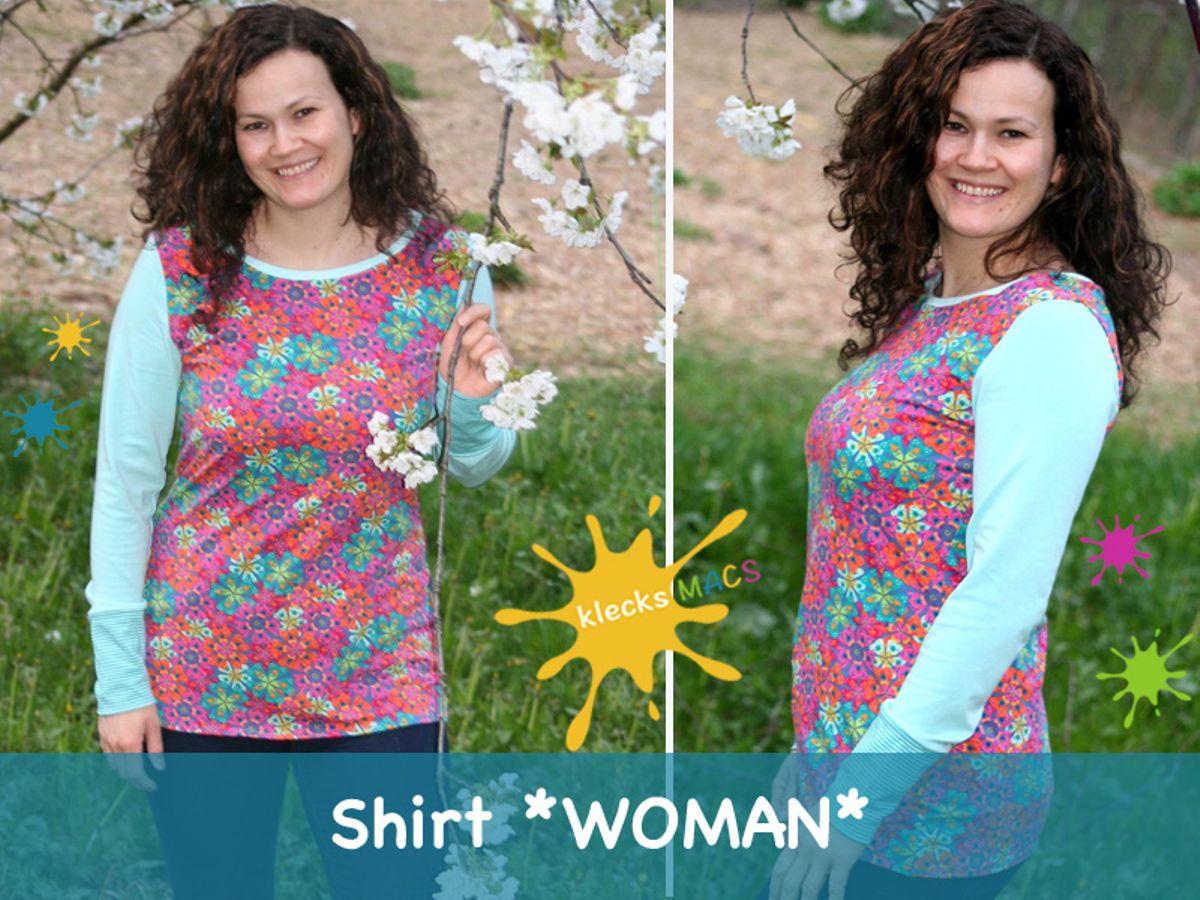 Produktfoto von klecksMACS für Schnittmuster Woman