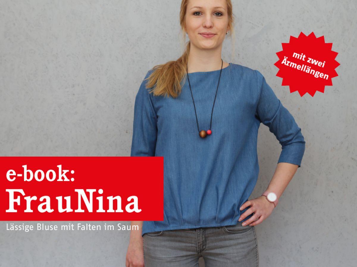 Produktfoto von schnittreif für Schnittmuster Frau Nina